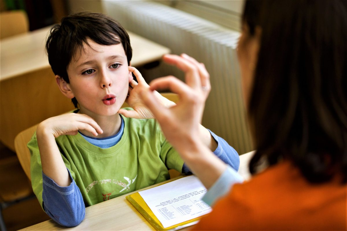 Расстройства развития речи или языка