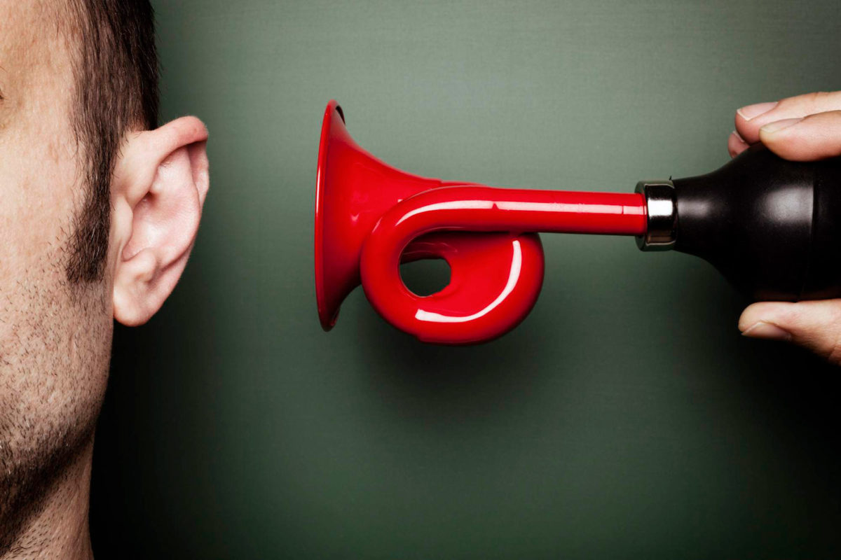 Шум в ушах из-за стресса