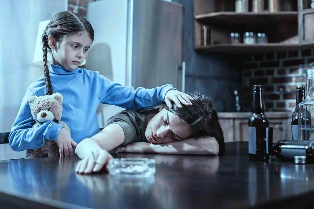 Дети алкоголиков влияние