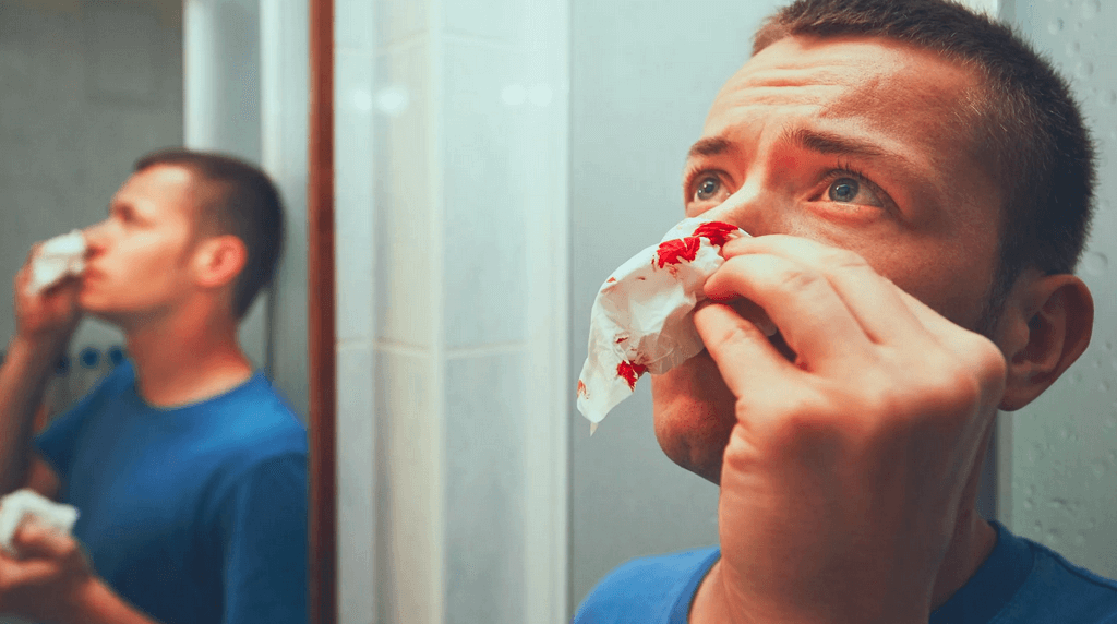 Кровь из носа при стрессе