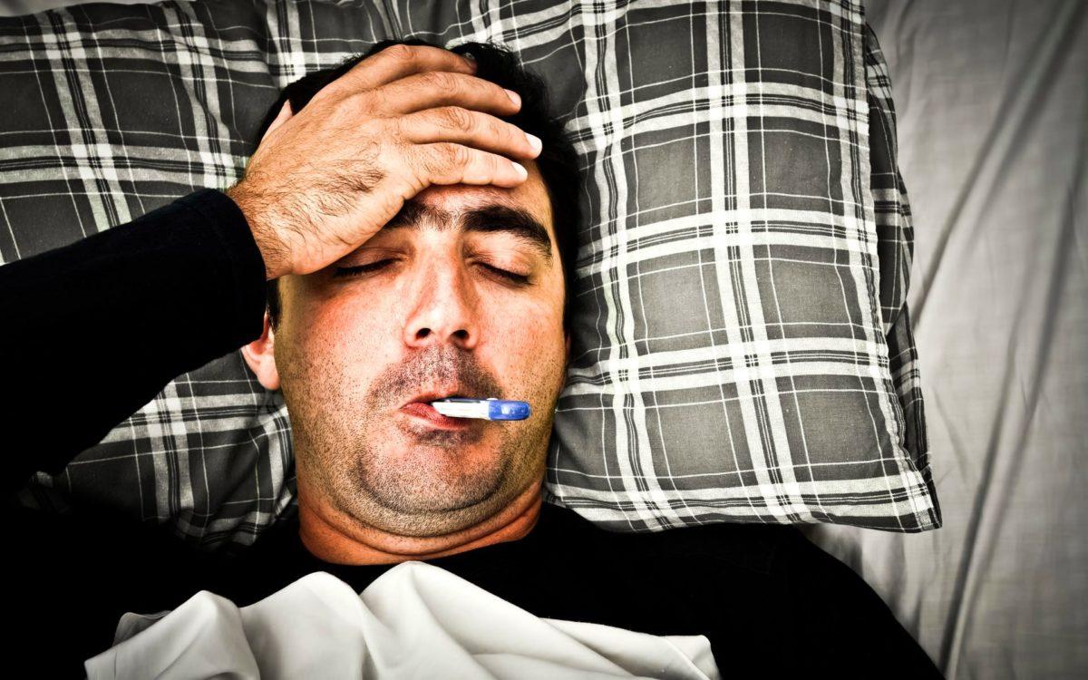 Температура от стресса может меняться