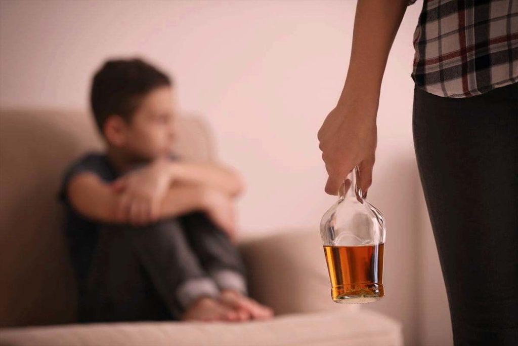 Дети алкоголиков последствия