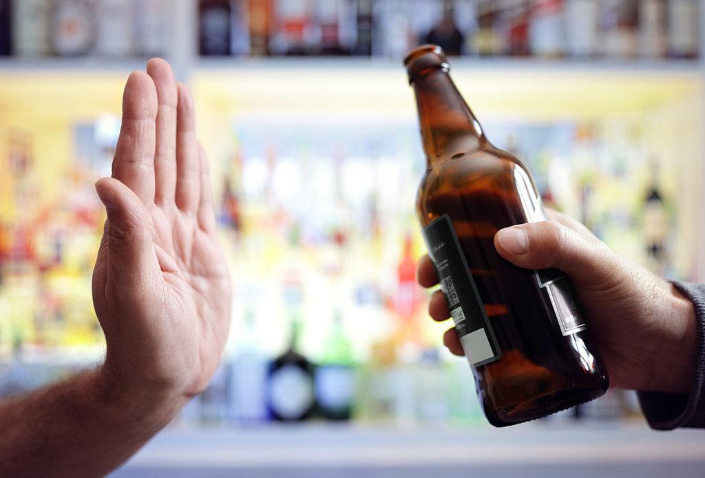Безалкогольное пиво для закадированных