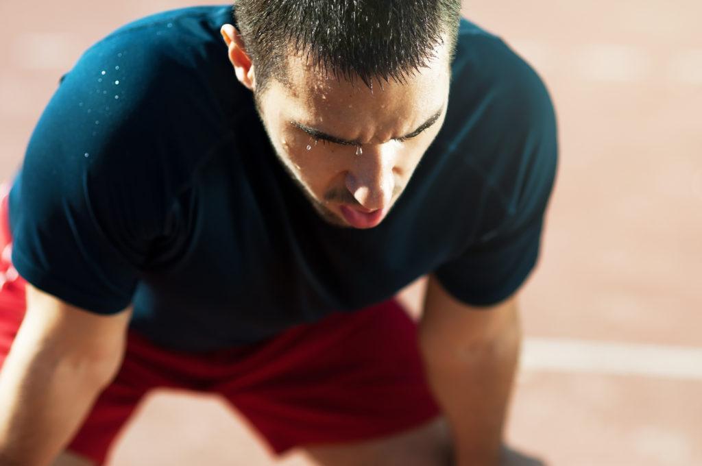 Тяжело дышать после спорта