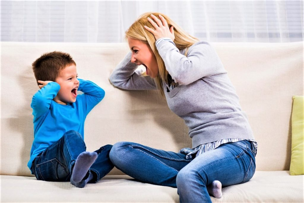 Типы детских истерик