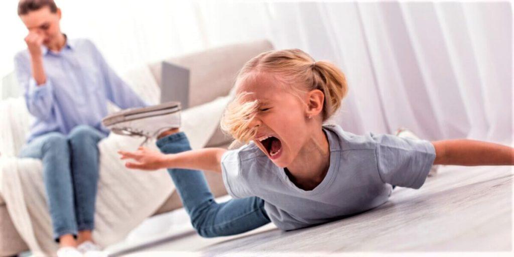 Признаки детских истерик