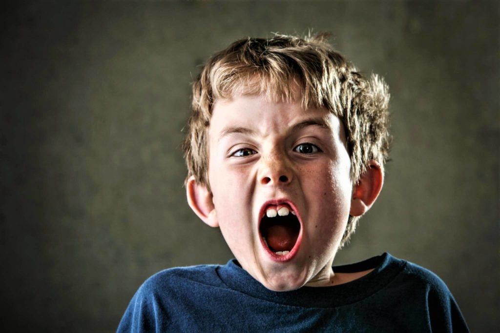 Осложнение детских истерик