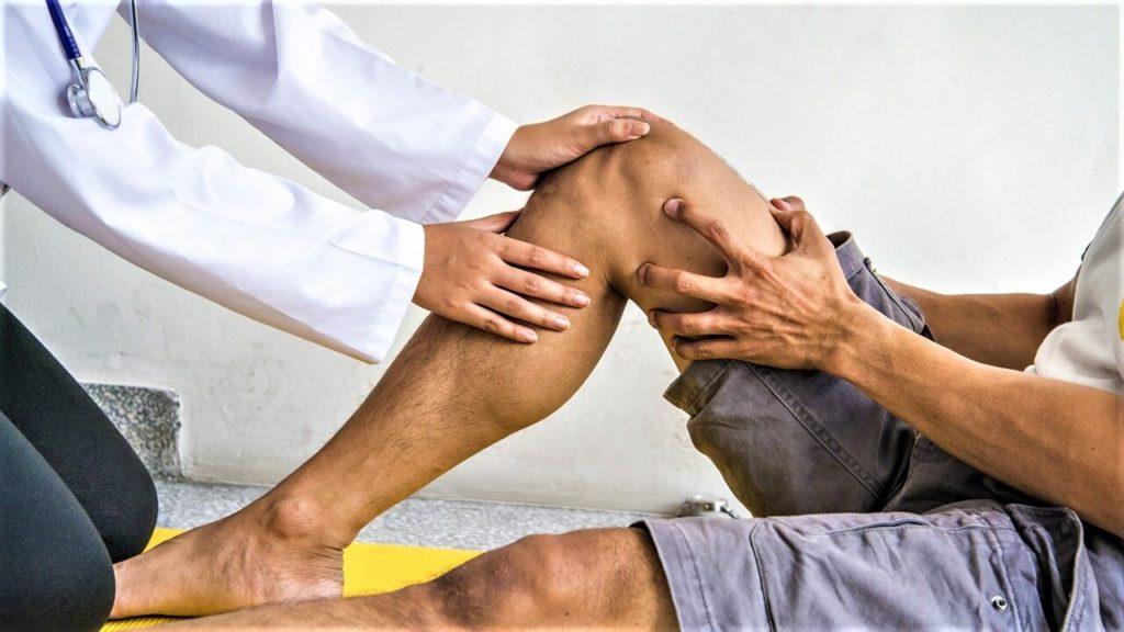 Боли в коленях после 30 - диагноз