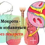 Лечение мокроты без лекарств